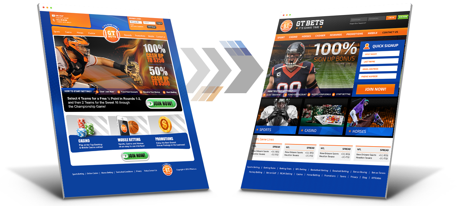 GTBets Redesign