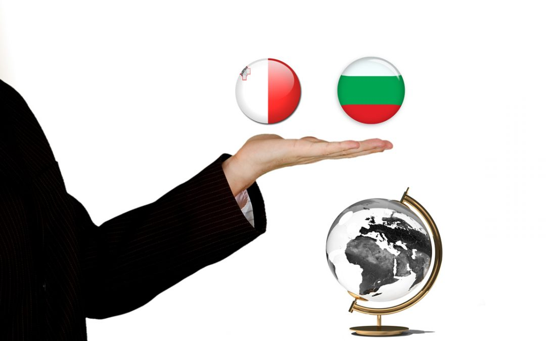 What's common between Malta and Bulgaria?