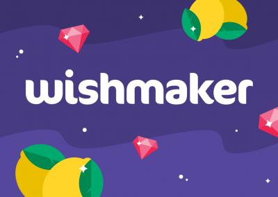Wishmaker – Online Casino Logo Design